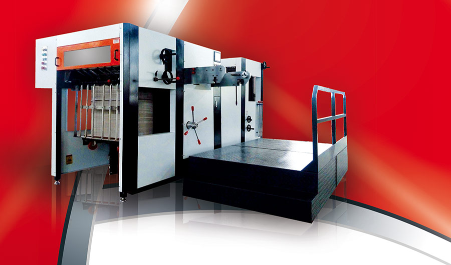 Automat sztancujący w drukarni Vacat